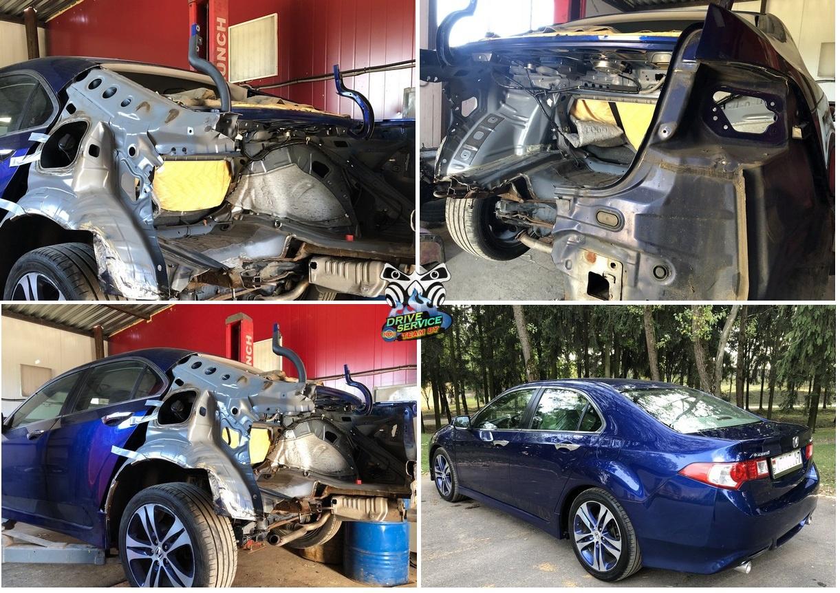Восстановление автомобиля Honda Accord после аариипо страховке ТАСК, возмещение ущерба